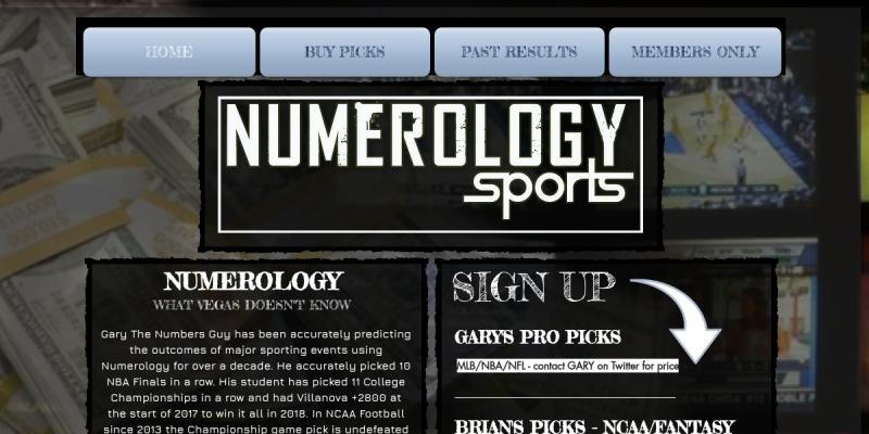 numerology sports betting